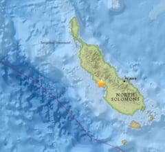 Un cutremur de 7,9 grade a zguduit Papua Noua Guinee. A fost emisa alerta de tsunami