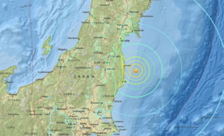 Un cutremur puternic a zguduit Japonia UPDATE: Mai multe valuri seismice au lovit arhipelagul