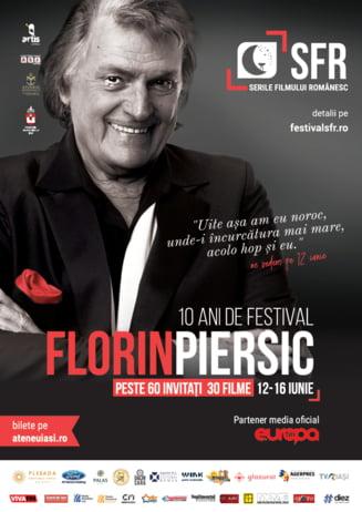 Un deceniu de Serile Filmului Romanesc, celebrat alaturi de marele actor Florin Piersic