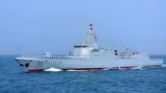 Un distrugator chinez de mari dimensiuni a fost vazut in apropierea apelor teritoriale ale Japoniei. Evenimentul reprezinta o premiera