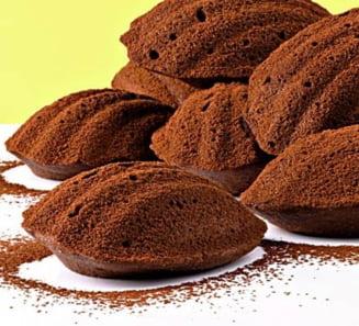 Un dulce de weekend: madlene cu cacao