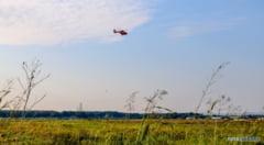 Un elicopter SMURD si jandarmii giurgiuveni controleaza zona Malu Rosu! Ce s-a intamplat VEZI AICI
