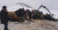 Un elicopter militar s-a prabusit in Turcia. 11 persoane, printre care si un general, si-au pierdut viata