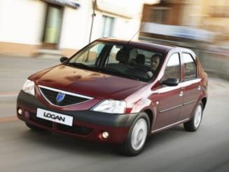 Un englez s-a indragostit de Dacia Logan