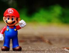 """Un exemplar al emblematicului joc video """"Super Mario Bros."""", vandut cu 114.000 de dolari"""