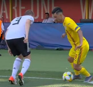 Un fotbalist roman a reusit faza zilei la Campionatul European de tineret
