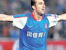 Un fotbalist roman are China la picioare (Video)