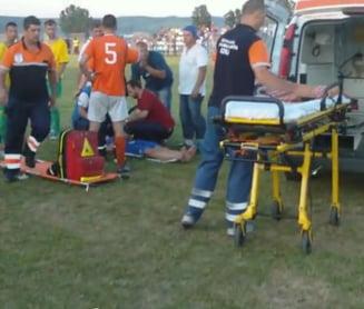Un fotbalist se zbate intre viata si moarte din cauza unei reguli socante a CCA (Video)