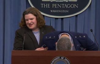Un general american a lesinat la Pentagon (Video)
