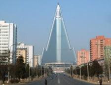Un hotel din Coreea de Nord, cea mai inalta cladire neocupata din lume, ar putea fi gata dupa 30 de ani