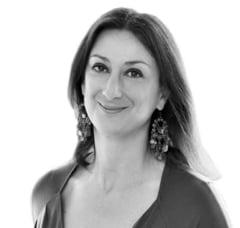 Un important om de afaceri a fost arestat in ancheta privind asasinarea jurnalistei Daphne Galizia