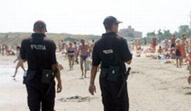 Un jandarm a fost muscat de un turist scandalagiu, la Costinesti