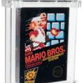 Un joc SuperMario 64, vandut la licitatie cu 1,56 milioane de dolari. Este primul joc vandut cu peste un milion de dolari