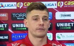 Un jucator de la Dinamo il pune la punct pe antrenorul de la FCSB dupa derbiul de pe National Arena