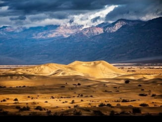 Un lac a aparut din senin in cel mai arid loc din America de Nord (Foto)