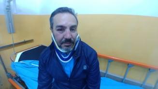 Un lider USR a fost atacat si desfigurat in timp ce impartea pliante, in Mehedinti
