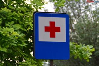 Un medic care se plimba prin curtea spitalului din Barlad s-a trezit cu un sarpe in carca