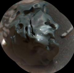 "Un meteorit cu o structura ""ciudata'' a fost descoperit pe Marte (Foto&Video)"