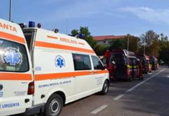 Un microbuz s-a ciocnit cu un TIR, in Neamt. Mai multe persoane au fost ranite, inclusiv un copil