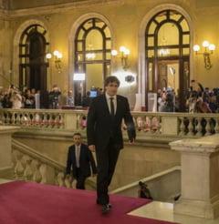 Un milion de spanioli au iesit in strada pentru unitate. Ce viitor il asteapta pe liderul separatistilor catalani?