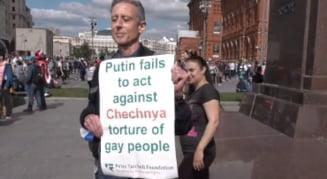 Un militant britanic pentru drepturile comunitatii LGBT a fost retinut la Moscova