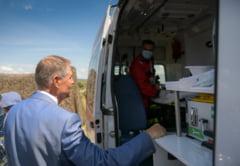 Un militar a lesinat langa presedintele Klaus Iohannis, la Cincu. Seful statului a mers la ambulanta pentru a vedea cum se simte