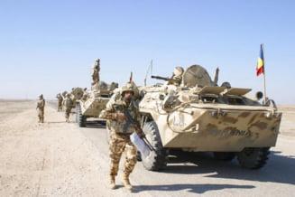 Un militar roman a fost ranit in Afganistan