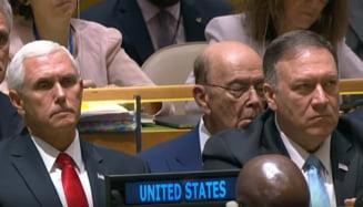 Un ministru american a adormit in timpul discursului lui Trump la ONU (Video)