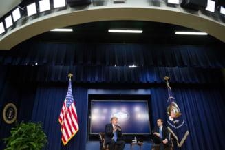 """Un moment de genul """"Alta intrebare"""" in varianta Trump"""