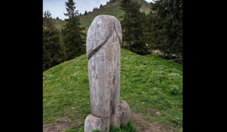 Un monument falic gigant din Bavaria, disparut. Politia germana a deschis o ancheta