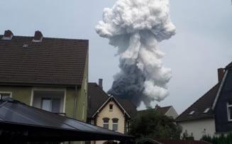 Un mort, patru dispăruţi şi 31 de răniţi în explozia de la uzina de tratare a deşeurilor de la Leverkusen, Germania
