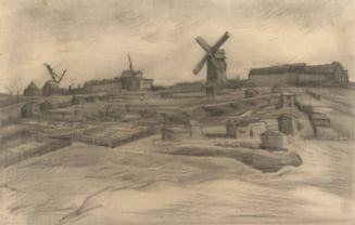 Un muzeu a expus schite de Van Gogh nemaivazute de 100 de ani