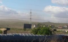 Un nor de cenusa a acoperit zona de langa Termocentrala Halanga