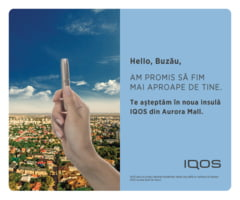 Un nou IQOS Lounge isi asteapta prietenii in Aurora Mall, din 17 septembrie