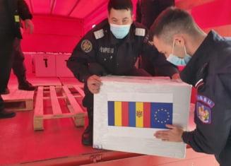 Un nou ajutor umanitar din partea Romaniei pentru Republica Moldova: 132.000 de vaccinuri AstraZeneca