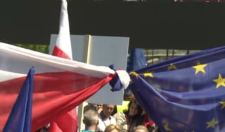Un nou proiect controversat impotriva magistratilor risca sa scoata Polonia din UE daca va fi adoptat