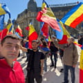 Un nou protest fata de restrictii. O mie de oameni s-au strans in Piata Victoriei