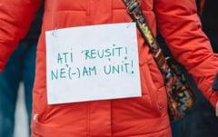Un nou protest tacut in fata sediului PSD din Sibiu: Se implinesc 3 luni de la primul, care a durat 60 de ore