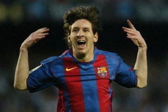 Un nou record pentru Messi