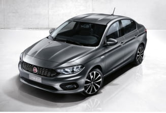 Un nou rival pentru Dacia Logan: Iata cum arata Fiat Tipo (Foto)