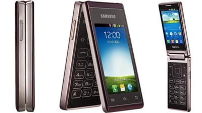Un nou smartphone de la Samsung: Are doua ecrane si procesor quad-core