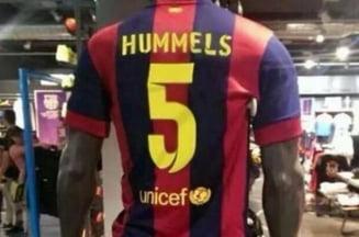 Un nou transfer de senzatie la Barcelona? Ce tricouri s-au pus deja in vanzare