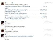 Un nou virus se raspandeste pe Facebook si Yahoo Messenger: E politicos si foloseste versete biblice