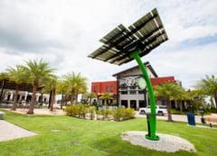 Un oras alimentat exclusiv cu energie solara