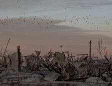 Un oras argentinian scufundat incepe sa iasa la iveala