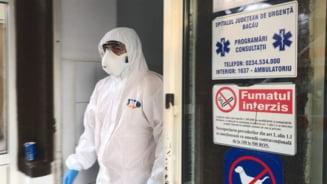 Un pacient cu COVID-19 a murit astazi la SJU Bacau. Acesta a fost transferat de la Buhusi vineri