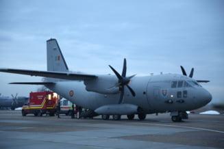 Un pacient roman care a suferit arsuri, transportat in Austria cu o aeronava militara