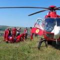Un parașutist a ratat aterizarea la Dezmir. Salvatorii au intervenit de urgență