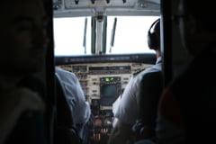 Un pilot a amenintat ca prabuseste avionul, dupa o cearta cu sotia