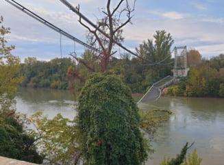 Un pod metalic s-a prabusit la Toulouse: O persoana a murit, altele sunt ranite UPDATE (Foto)